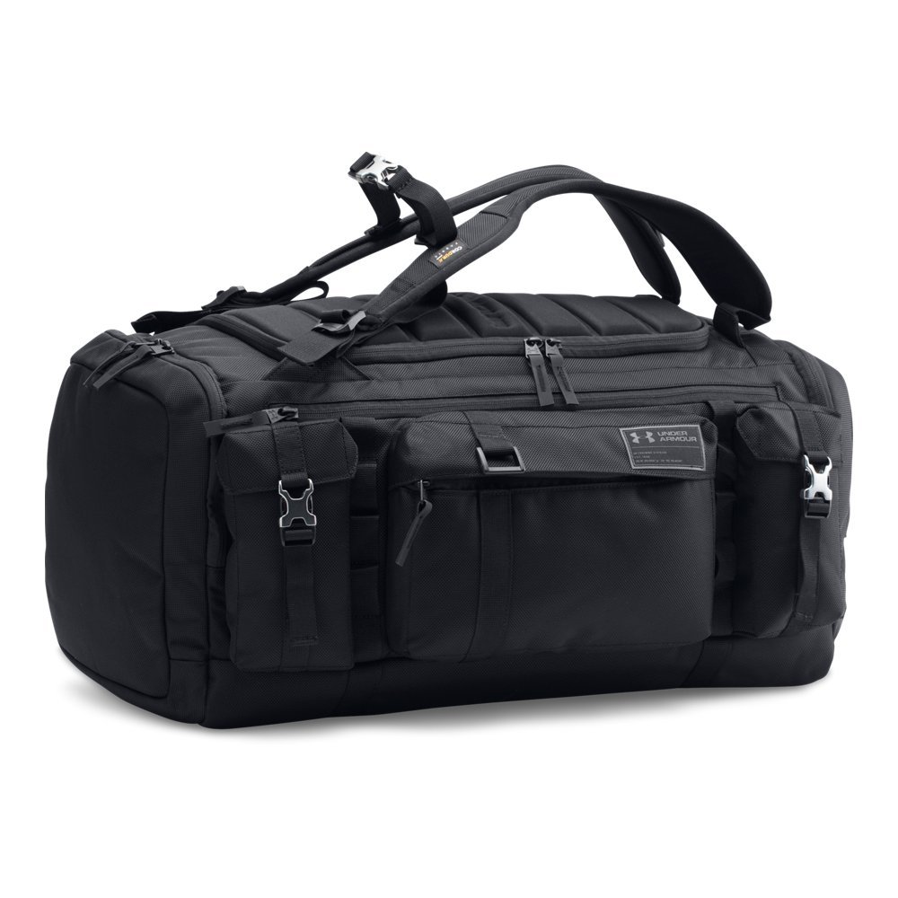 Under Armour CORDURA Range Duffle, Black/Black, One Size