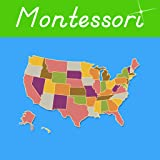 United States of America - A Montessori Approach to Geography with Puzzle Maps