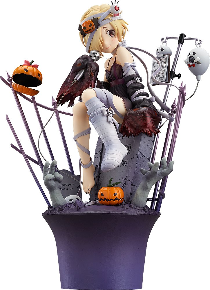 Max Factory The Idolmaster Cinderella Girls: Koume Shirasaka (Halloween Nightmare Version) 1:7 Scale PVC Figure