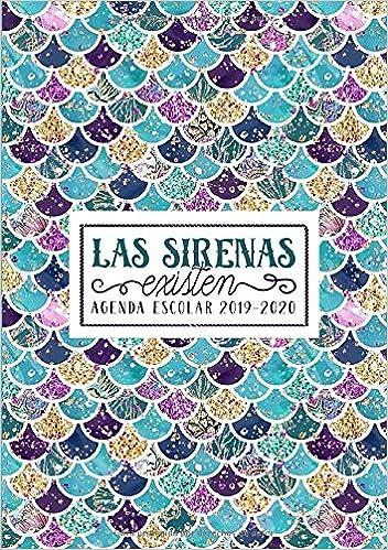 Amazon.com: Las sirenas existen: Agenda escolar 2019-2020 ...