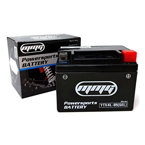 MMG YTX4L-BS GEL CELL High Performance sealed Battery – ATV TaoTao Cheetah  TForce ATA 110cc and ATA 125cc Series