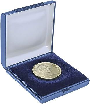Estuche para Monedas [Lindner 2007] para Monedas con Diferentes tamaños hasta 60 mm Ø: Amazon.es: Juguetes y juegos