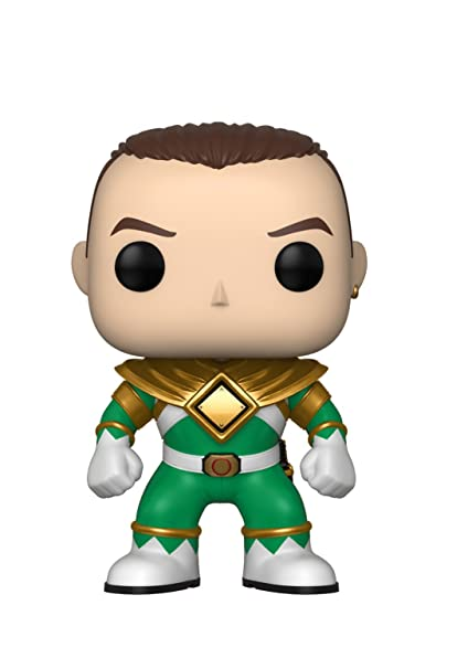 40ce6db5bea Image Unavailable. Image not available for. Color  Funko Pop Television  Power  Rangers - Green Ranger (No Helmet) Collectible Figure