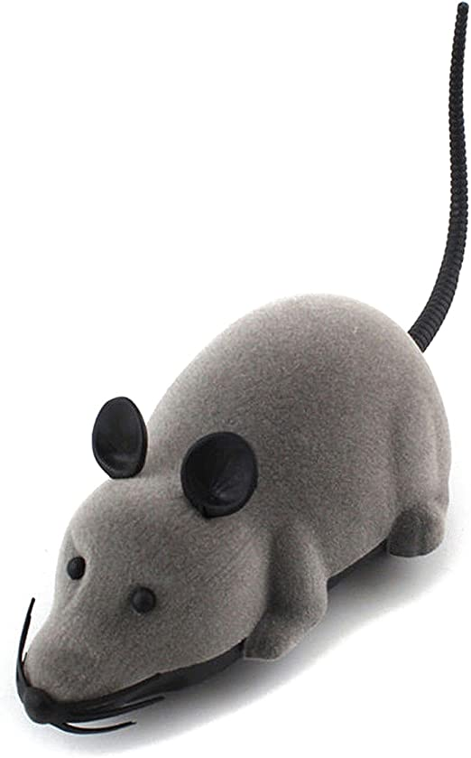 TOOGOO Raton Rata electronico RC Control Remoto inalambrico Ratones para Gato Perro Mascota Juguete Divertido: Amazon.es: Hogar