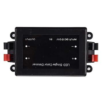REFURBISHHOUSE SMD LED Strip Funk RF Dimmer Regler 12V Fernbedienung