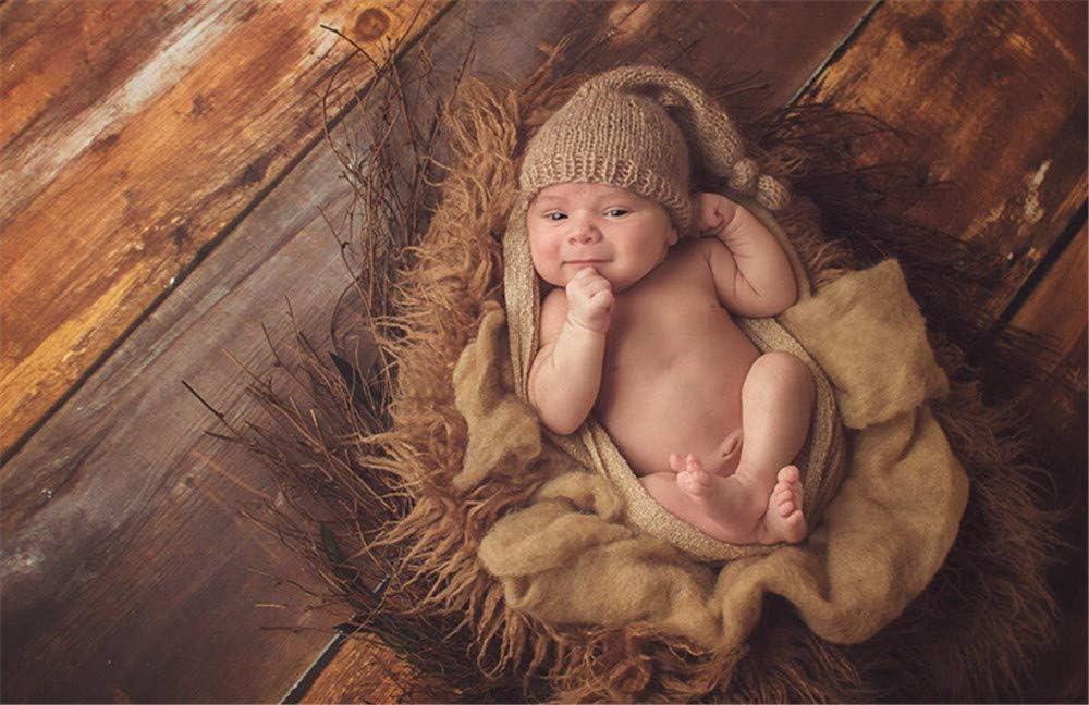 Baby Fotografie-Requisiten f/ür Jungen und M/ädchen geh/äkelt gestrickt niedliche Babym/ütze Unisex