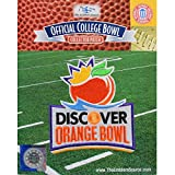 2012 Orange Bowl Embroidered Collectible Patch