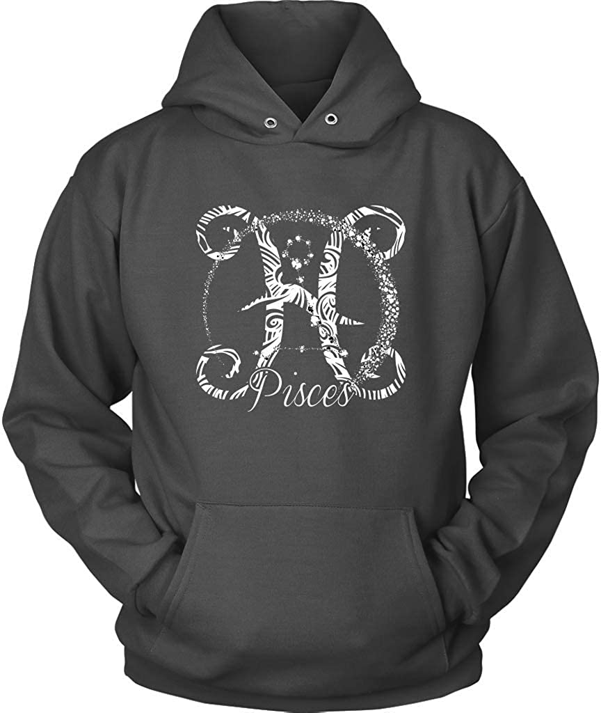 Gift Funny Pisces Loves Being Long Relationships Zip Hooded Sweatshirt
