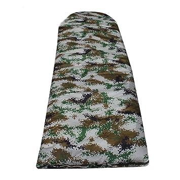 APRFELICIA Saco de Dormir Ligero para Caminar, Acampar, Viajar (Color : Camouflage): Amazon.es: Hogar