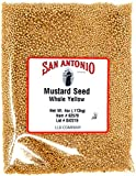 Premium Whole Yellow Mustard Seed (4 Ounce Seeds)