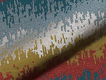 Furniture Fabric Allure Pattern Abstract Colour Multicoloured As Robust Cover Fabric Upholstery Fabric Colourful Patterned For Sewing And Covering Polyacrylic Polyester Amazon Co Uk Welcome
