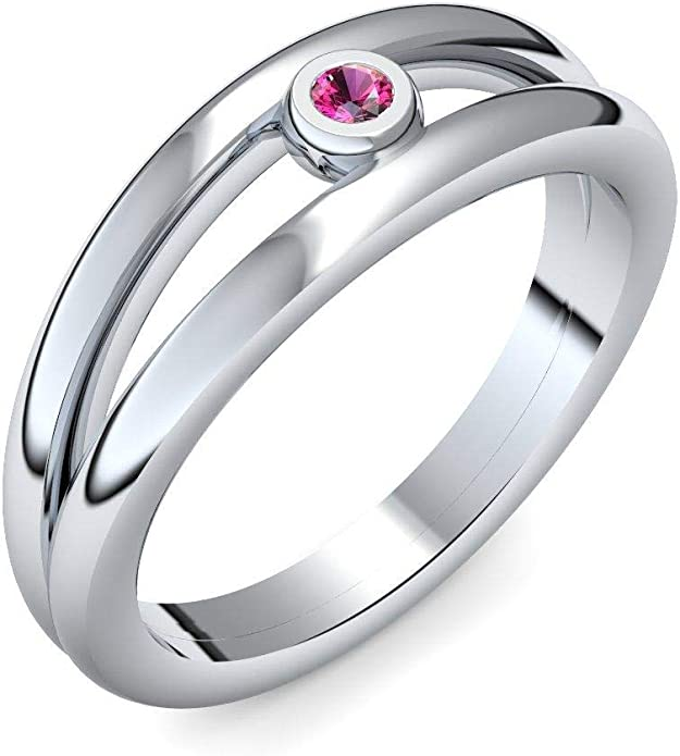 Anillo de plata Rubin 925 + con Estuche + rubí anillo plata rubí anillo plata (plata 925) - disfrazan amoonic joyería tamaño 50 (15.9 AM141 SS925RUFA: Amazon.es: Joyería