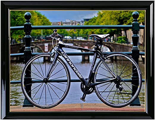 Juego de punto de cruz DIY Amsterdam paisaje diamante pintura ...