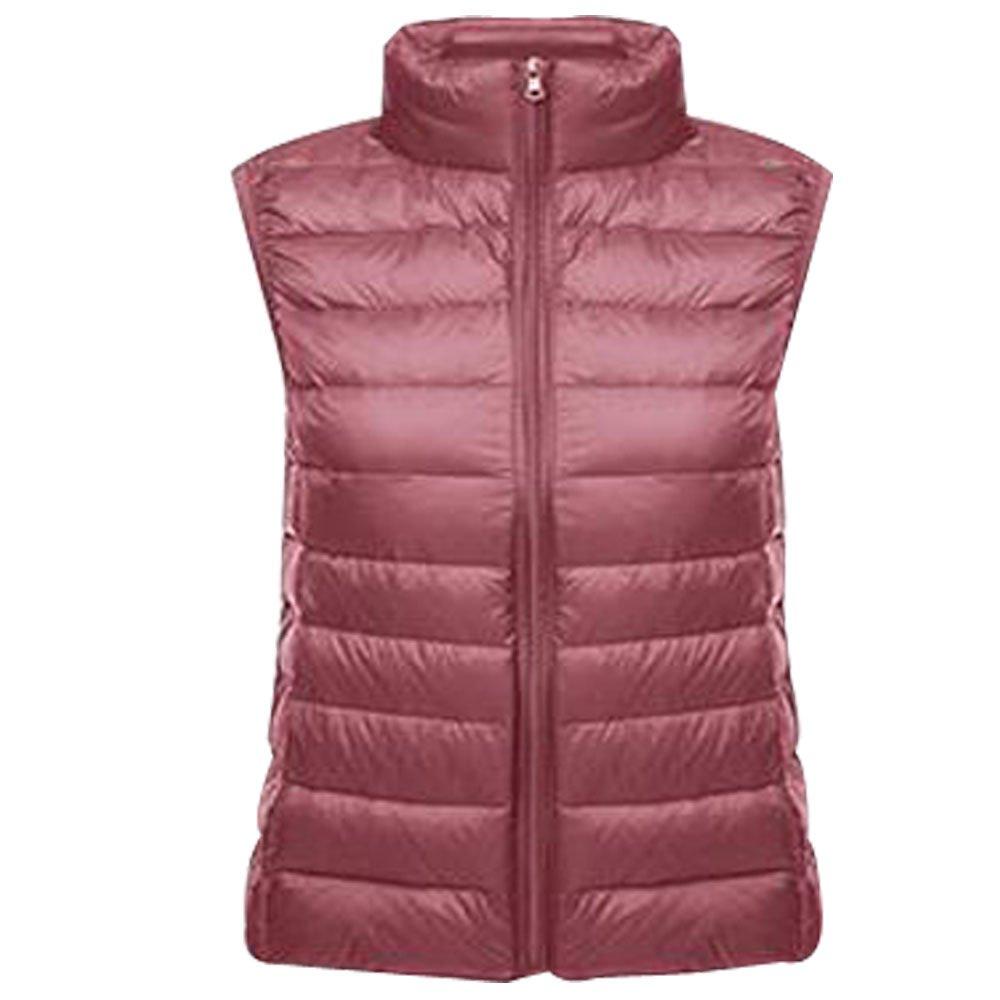 BOZEVON Women Ladies Girls Ultralight Down Vest Sleeveless Gilet Body Warmer