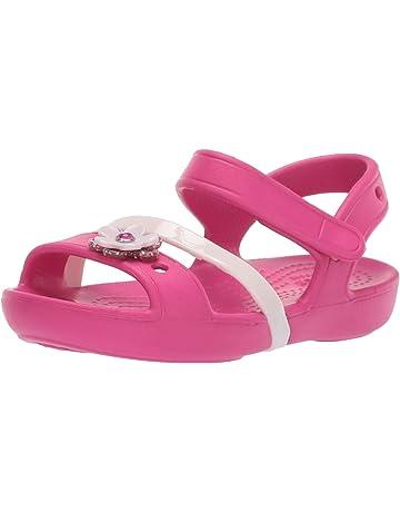 f2e4427ba35b Crocs Unisex Kids Lina Charm Sandal K Heels