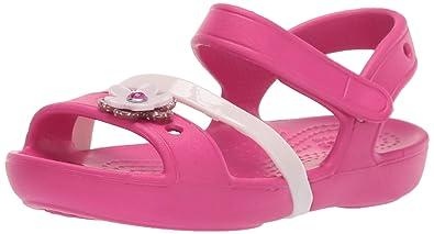 e6431daaf9a6 Crocs Lina Charm Sandal Flat