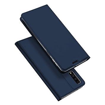 DUX DUCIS Funda Samsung Galaxy A7 2018,Flip Folio Cover,Soporte Plegable,1 Ranuras para Tarjetas,Magnético,Ultra-Delgado Carcasa para Samsung Galaxy ...