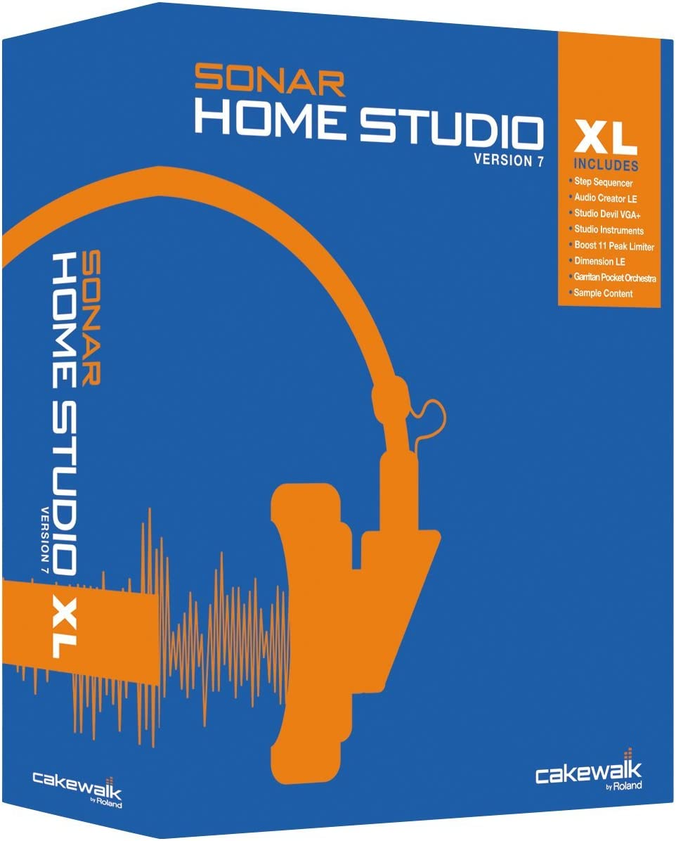 Sonar Home Studio 7 XL [OLD VERSION]