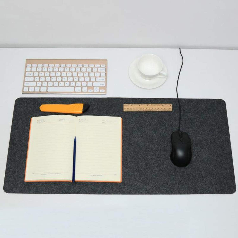 Office Computer Desk Mat Modern Table Wool Felt Laptop Cushion Desk Mat