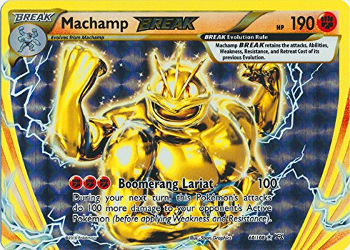 Pokemon - Machamp BREAK (60/108) - XY Evolutions - Holo
