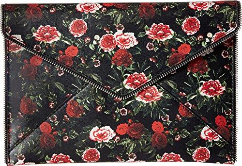 Rose Floral Perforated Clutch Minkoff Rebecca Leo XtxFwIqq0