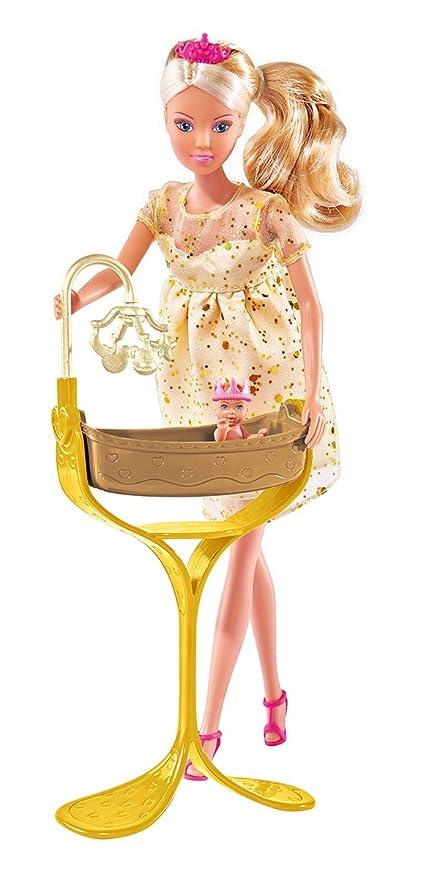 differently newest collection new lifestyle Simba - 105737084 - Poupée Enfant - Steffi Love - Enceinte bébé royal +  Accessoires - 29 Cm