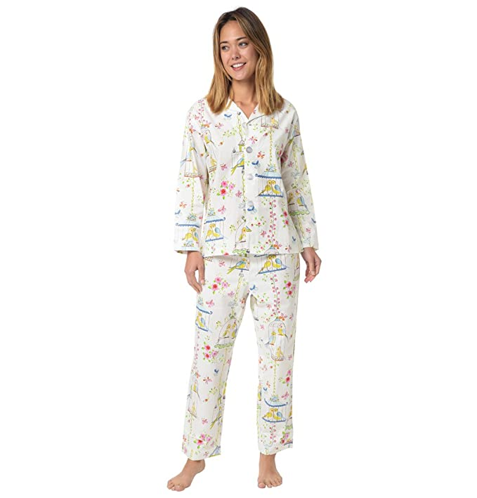 09c5a79420 Lovebirds Cotton Pajama at Amazon Women's Clothing store: