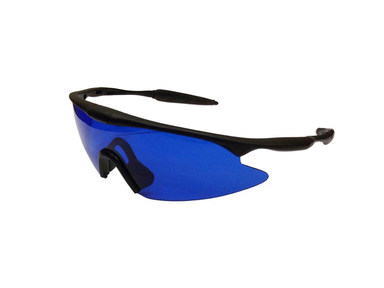 Posma GF100E Bundle set Golf Rangefinder High Definition Mini Monocular Pocket Scope + Golf Ball Finder Hunter Retriever Glasses by POSMA (Image #3)
