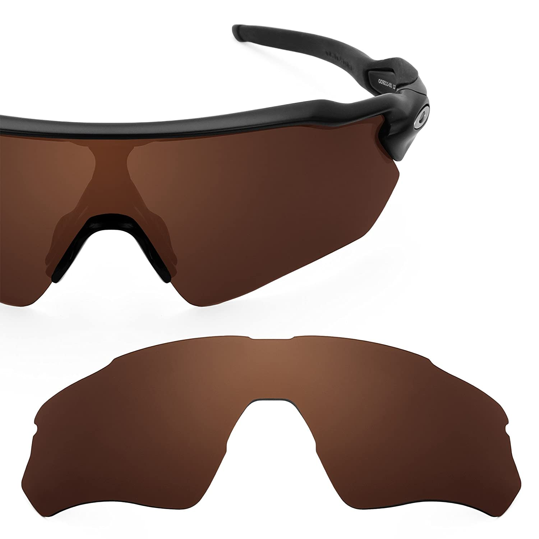 9bc1d72d138 Revant Polarized Replacement Lens for Oakley Radar EV Path Elite Dark Brown  Asian Fit  Amazon.co.uk  Clothing