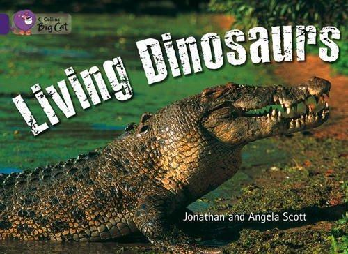 Collins Big Cat – Living Dinosaurs: Band 08/Purple (English Edition)
