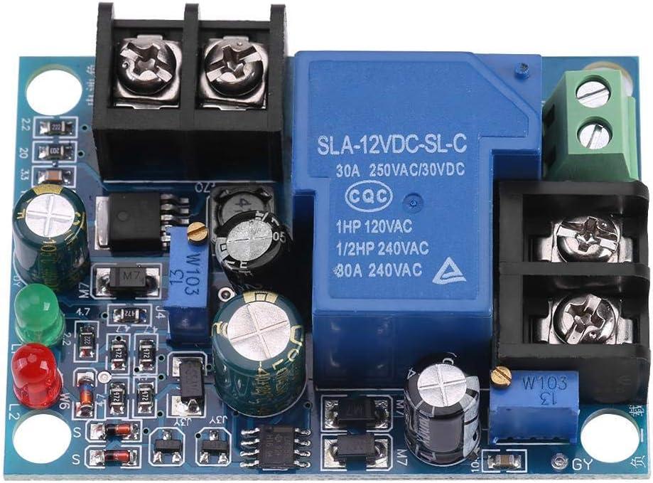 Akozon Módulo de protección del controlador de carga del cargador de batería automático 30A(24V)