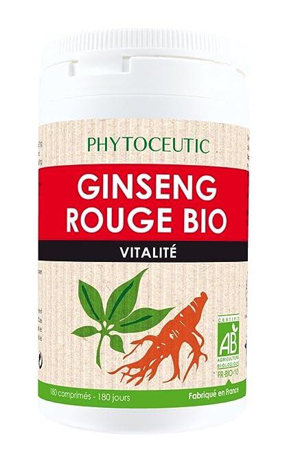 Laboratorios Phytoçtic Ginseng Rojo 180 comprimidos 531 g ...