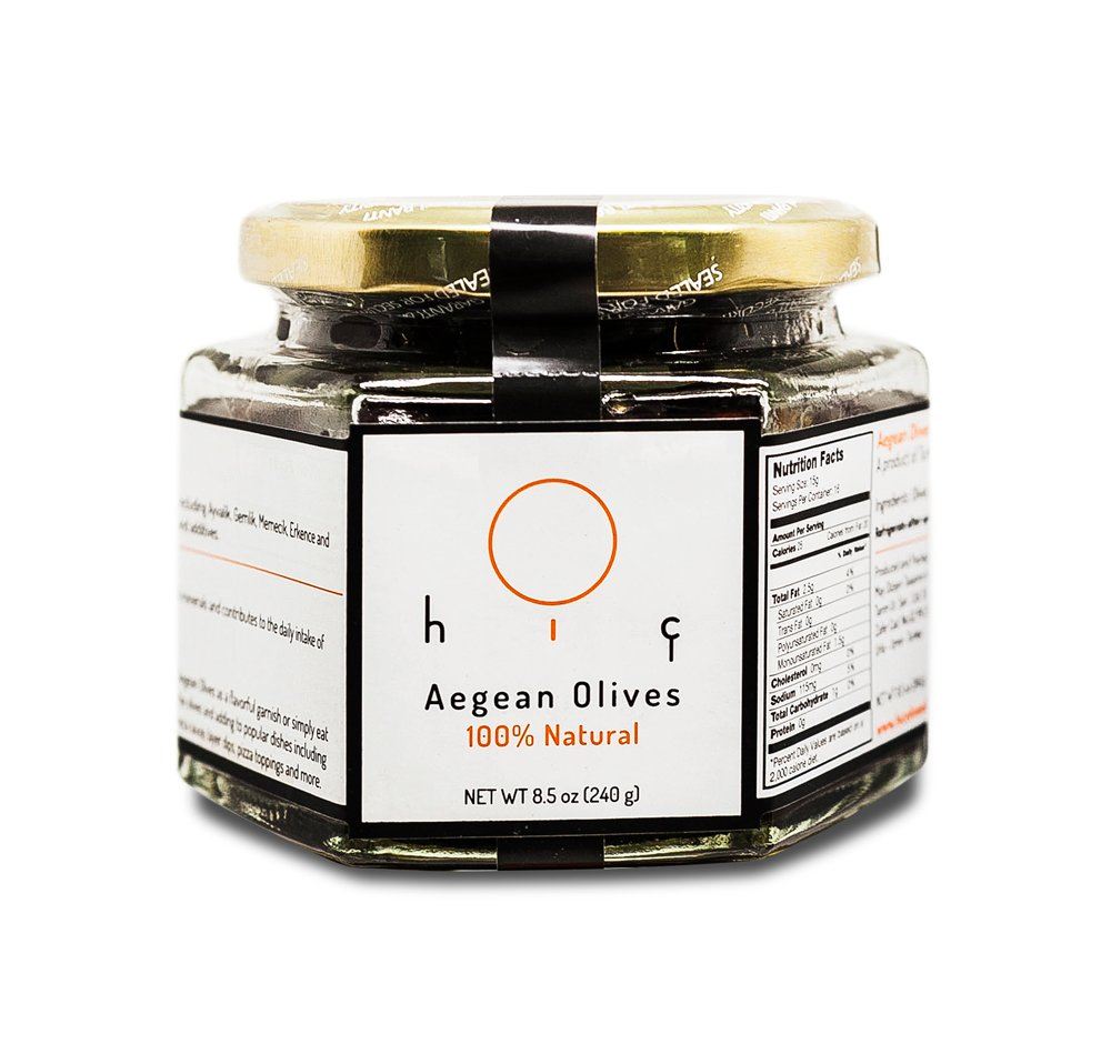 Hiç Black Aegean Olives
