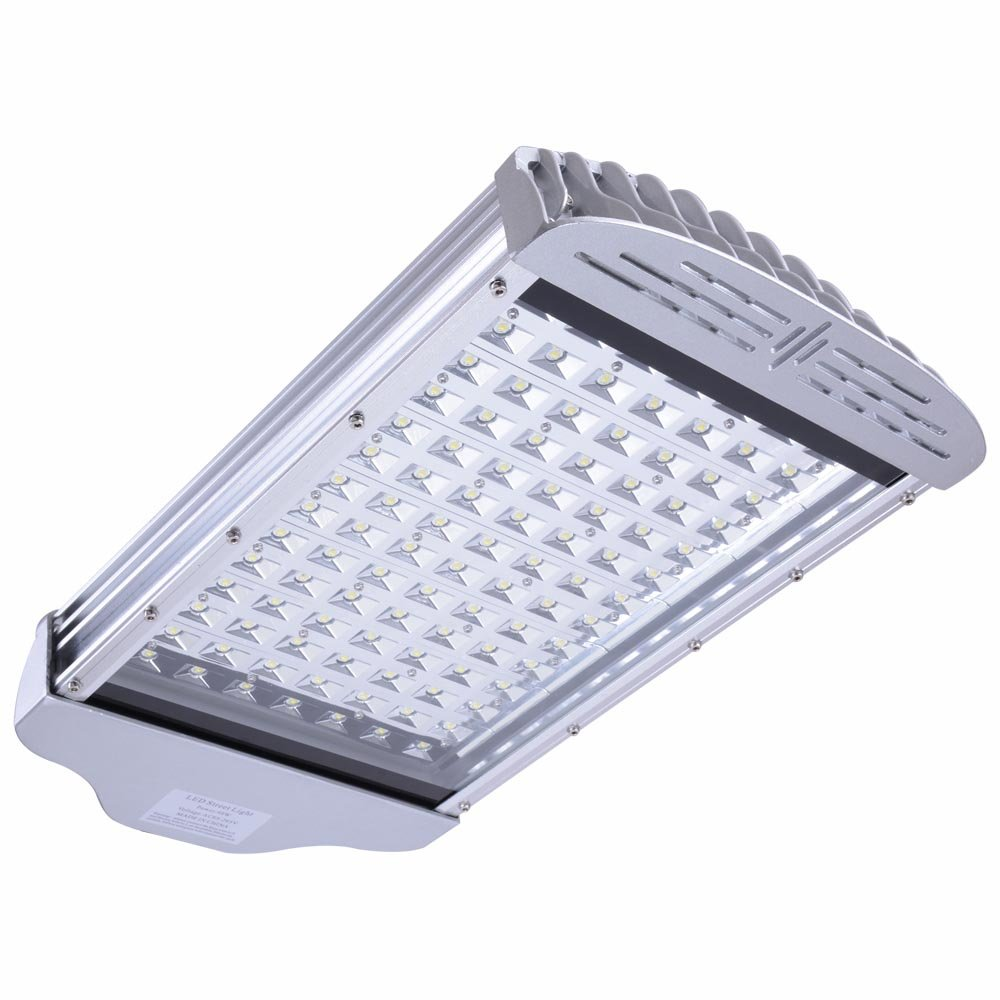 Yescom 98W Outdoor Wired Aluminum LED Street Flood Area Light Parking Lots Road Lamp Pole IP65 Cool White 6500K 7800lm