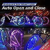 Bodyguard Bike Wheel Lights - Auto Open and Close - Ultra Bright LED - Bicycle Wheel Spoke / Light...
