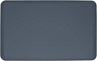 product image for WellnessMats Premium Anti-Fatigue Trellis Mat (3' x 2', Gray)