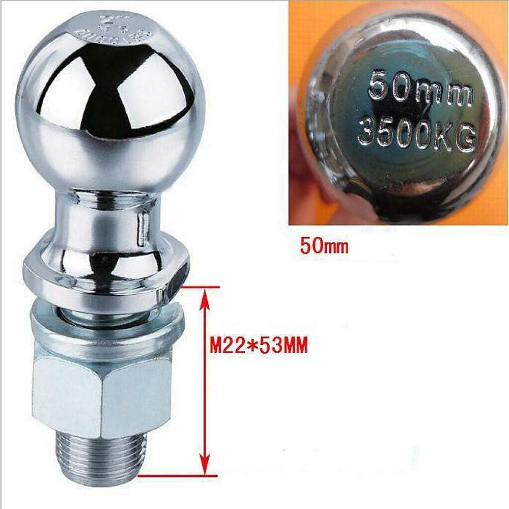"Enganche De Bola De Remolque Bola Pin 50 mm Universal Cromo Quad ATV HEAVY DUTY 3//4/"" 19 mm"
