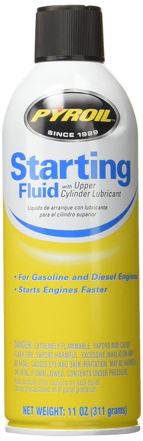 11OZ Starting Fluid (Pack of 12) by Pyroil