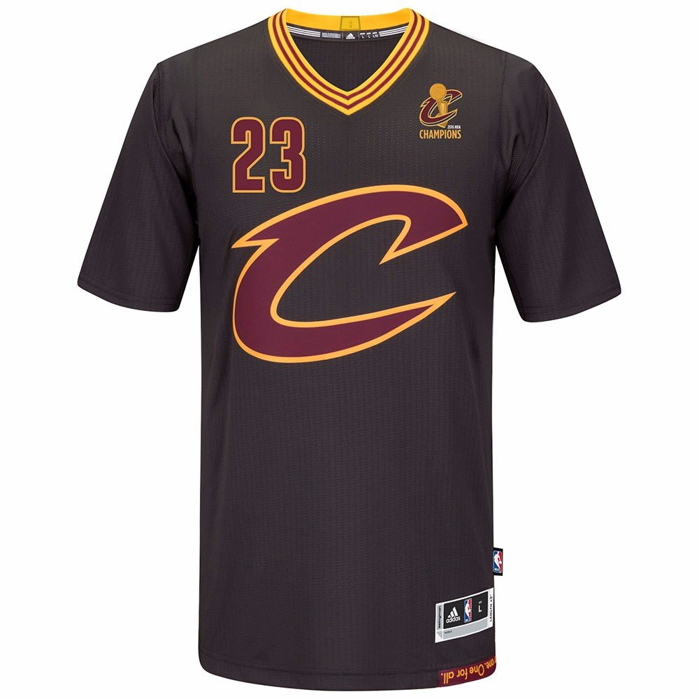 Amazon.com   Cleveland Cavaliers 2016 NBA Champions Patch Black Alternate  adidas Swingman Jersey   Sports   Outdoors e5049ec16