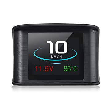 ShenYo T600 GPS Hud Head Up Display Digital velocímetro con OBD2/EUOBD TFTLCD Pantalla, OBD 2 escáner Herramienta de diagnóstico de Velocidad Alarma: ...