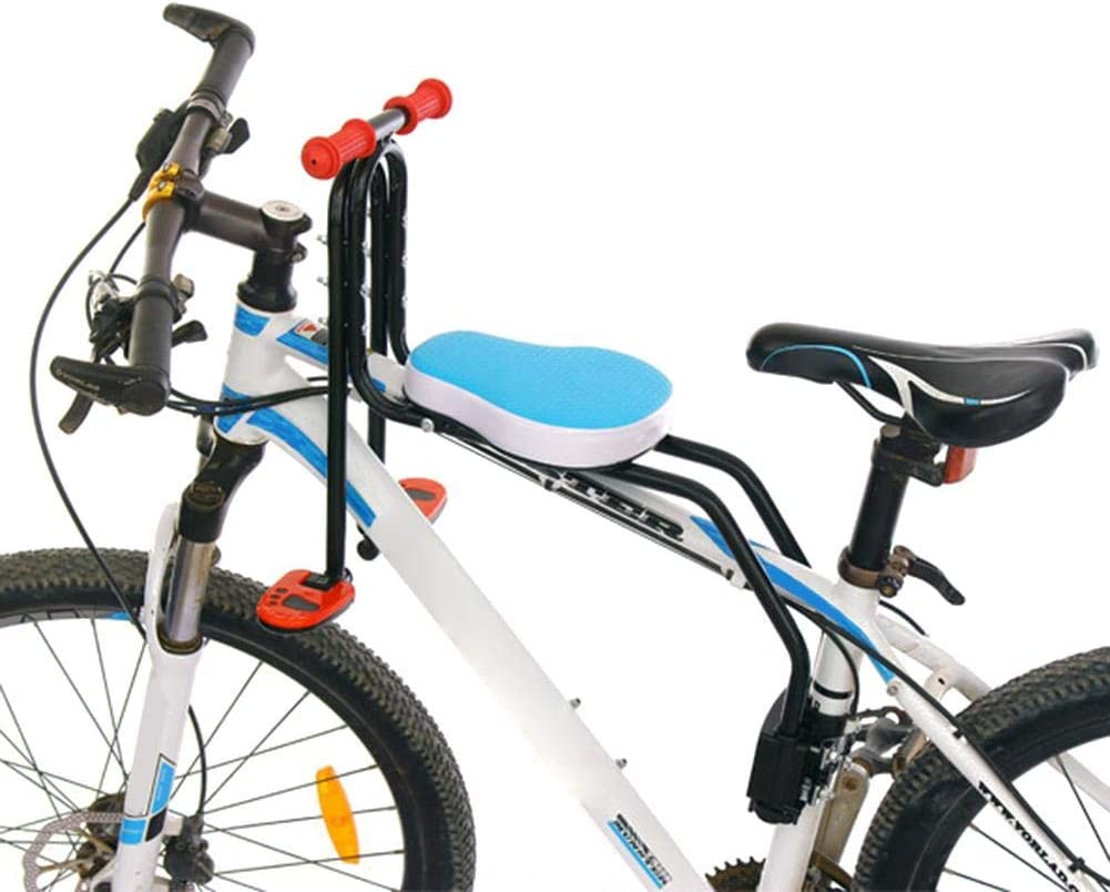 NMSLA Bike Seat Children bicycle Safety Chair Mountain Bike Front Seat Mat advancement relaxing