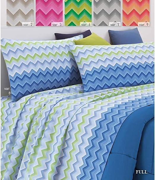 CapitanCasa Juego Completo de sábanas de 100% algodón