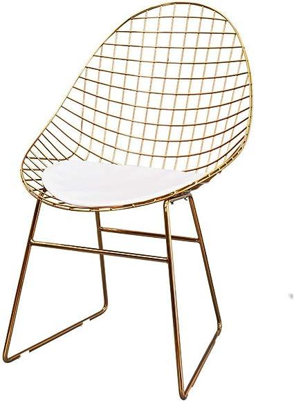 Nordic Hollow Iron Chair Chaise De Grillage Chaise De Grillage