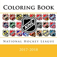 National Hockey League Coloring Book: All 31 NHL team logos to color for the 2017-2018 season (also includes information on each team) - Excellent make a perfect birthday present/gift idea.