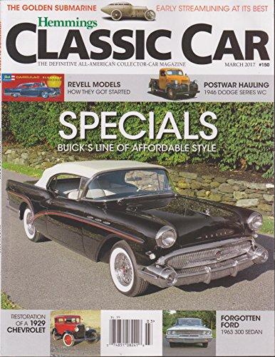 Hemmings Classic Car Magazine March 2017
