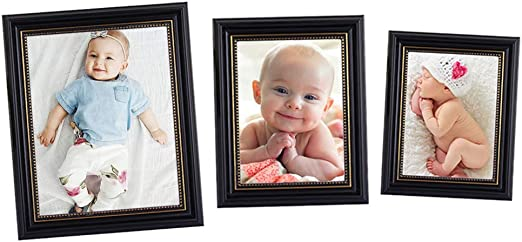 Decorative Picture Frames - 4x6 Photo Frame Wood Wood Picture Frame 4x6 Photo 3 Pack