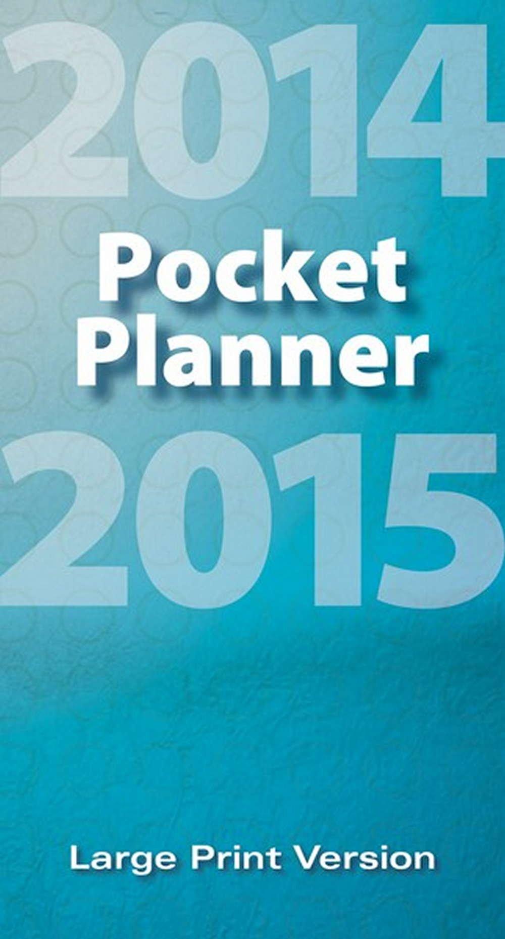 Large Print 2014 Pocket Planner