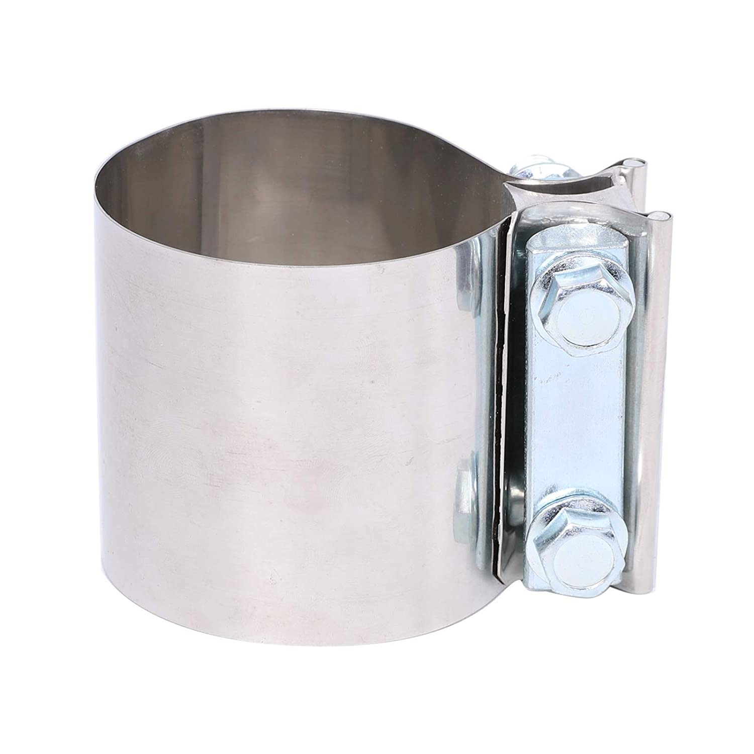 BETTERCLOUD 5 Stainless Steel Butt Joint Band Exhaust Clamp with I Block