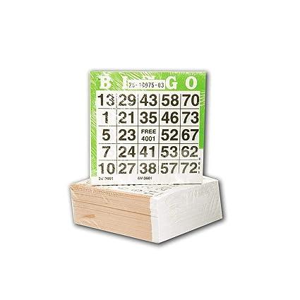 Speelgoed Tarjetas de bingo 360601, 500 unidades