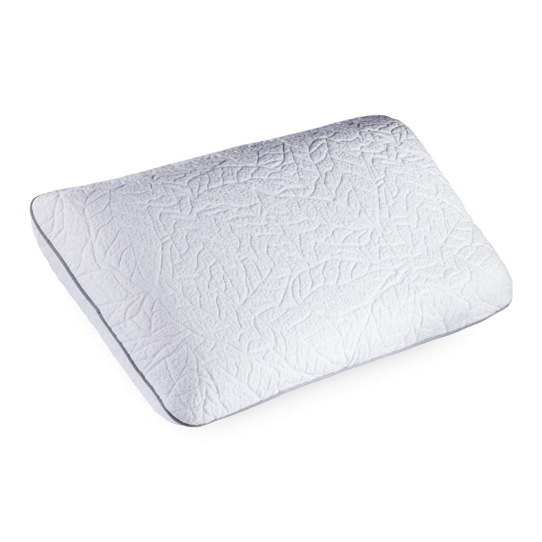 JONA SLEEP Kissen 40x80 cm Latex Kopfkissen 100% Naturlatex Öko Tex Nackenstützkissen Nackenkissen Schadstofffrei Fest Natur Bettwaren Seitenschläfer-geeignet Abnehmbarer Waschbarer Bezug